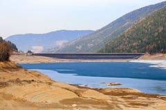 Гидроэлектроэнергия в долине Ulten Стоковые Изображения RF
