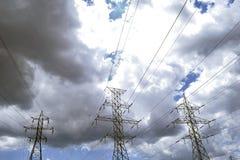 3 гидро башни Стоковая Фотография