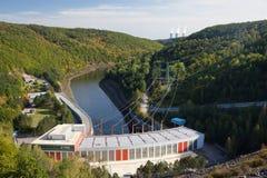 Завод гидроэлектрической энергии стоковые изображения rf