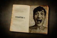 Глава 1, дневник смерти Стоковое Фото