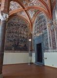 Глава Hall San Lorenzo Maggiore Италия naples Стоковые Изображения