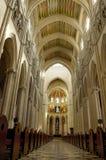 глава madrid купола собора almudena стоковое изображение