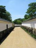главная дорога s himeji сада Стоковое Изображение RF