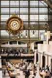 Главная зала ` Orsay Musee d музея Orsay Франция paris Стоковые Изображения