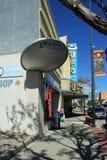 Главная улица в Roswell, Неш-Мексико стоковые изображения rf