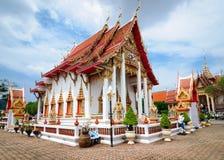 Главное здание виска Wat Chalong стоковые фото