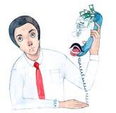 Главные звоноки иллюстрация штока