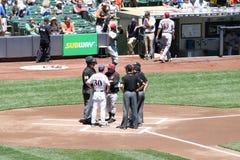 Главный бейсбол Leage стоковое изображение