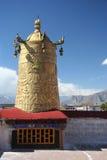 главный висок Тибет Стоковые Изображения RF