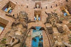 Главный двор музея Dali в Испании Стоковое фото RF
