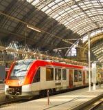 Главный ж-д вокзал Германия Франкфурта стоковое фото rf