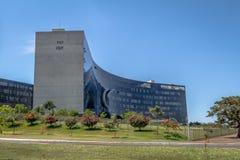 Главный трудовой суд - главный начальник трибунала сделайте Trabalho - TST - Brasilia, Distrito федеральное, Бразилия стоковое фото rf