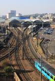 главный railway стоковые фото