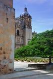 главным образом квадрат Мексики oaxaca Стоковые Изображения RF