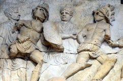 Гладиаторы Colosseum в Риме стоковое изображение rf
