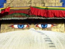 глаза Будды Стоковая Фотография