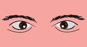 Глаза дизайна человека иллюстрация штока