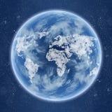 глаза земли иллюстрация вектора