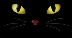глаза кота иллюстрация вектора