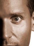 глаза оглушая Стоковая Фотография
