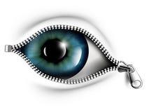 глаза раскрывают ваше Стоковые Фотографии RF