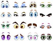 глаза шаржа Стоковое фото RF