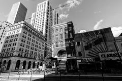 Глаза широко раскрывают городской Хьюстон стоковое изображение rf