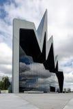ГЛАЗГО, ШОТЛАНДИЯ - 1-ое июля 2013 фронт музея берега реки 1-ого июля 2013 в Глазго, Шотландии музей берега реки Стоковая Фотография