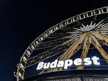 Глаз Будапешта стоковая фотография rf