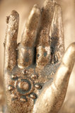 Глаз Будды третий Стоковое фото RF