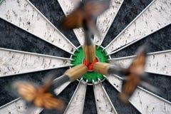 Глаз быков дротиков центризовал 3 стоковое фото rf
