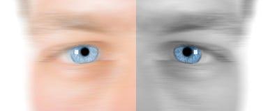 глаз голодает Стоковое фото RF