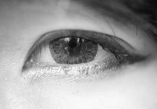 глаз довольно Стоковое Изображение