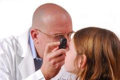 глаз доктора Стоковая Фотография