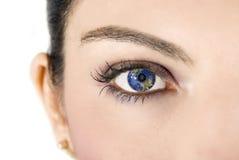 глаз земли Стоковое фото RF