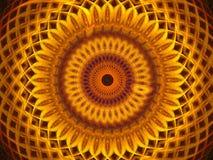 глаз золотистый Стоковое Изображение