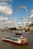 Глаз Лондон в Англии стоковые изображения