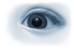 глаз младенца Стоковая Фотография RF