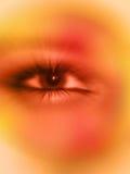 глаз наблюдая вас иллюстрация вектора