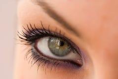 глаз открытый Стоковая Фотография