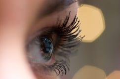 глаз открытый стоковое изображение