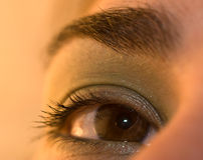 глаз раскрывает Стоковое Изображение RF