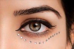 глаз составляет Стоковые Изображения RF