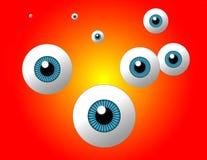 глаз улавливателя иллюстрация штока
