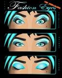 глаз улавливателя eyes девушка способа Стоковые Изображения RF