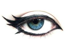 глаз унылый стоковое изображение