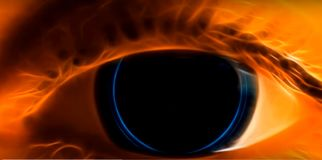 Глаз цифров бесплатная иллюстрация