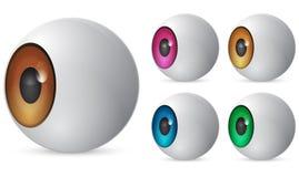 глаз шарика Стоковая Фотография RF