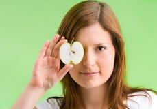 глаз яблока равный Стоковое Изображение
