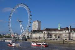 глаз london Стоковое Изображение